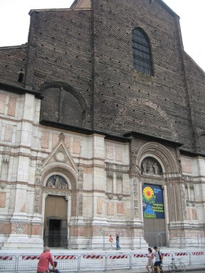 The unfinished Church of Bologna