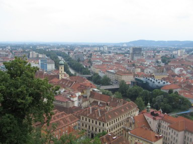 Graz and the Kunsthaus