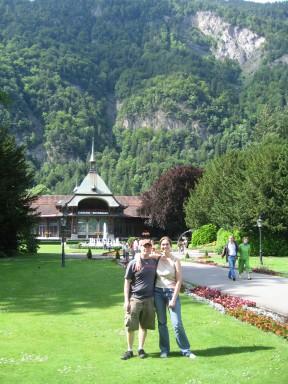 Interlaken before...