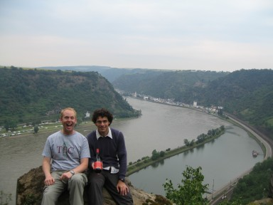 Above the Loreley
