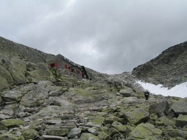 First view of the true summit