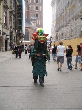 Krakow's mascot