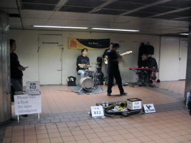 Best. Subway band. Ever.